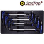 T22903 7pc T-Handle Tamper Proof Star Wrench Set